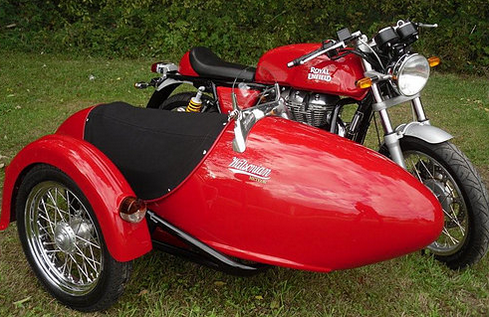 Meteor Sidecar Right Hand Mount Watsonian-Squire Motorcycle